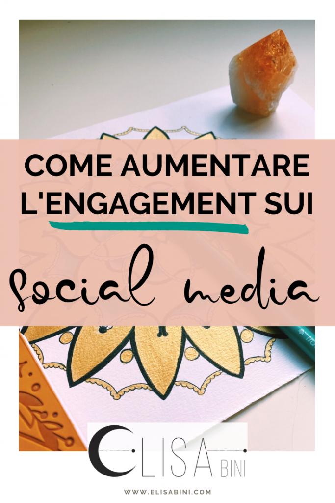 Come creare contenuti persuasivi per aumentare l'engagement sui social - Immagine da salvare su Pinterest